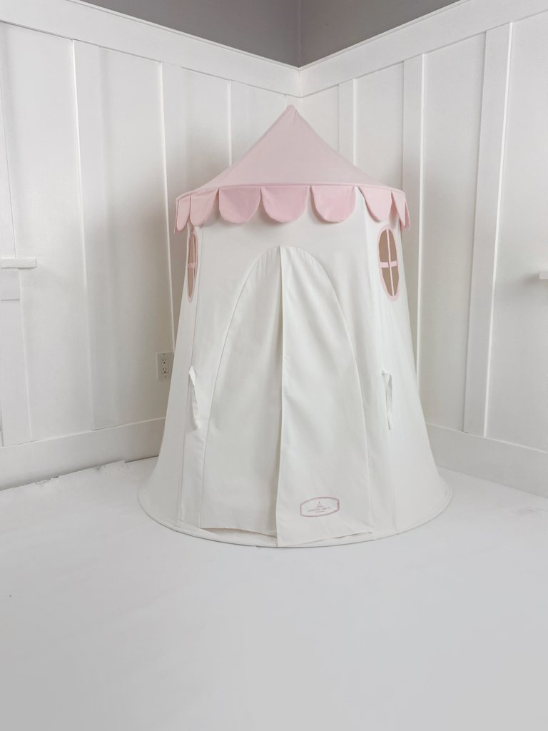 Domestic Objects Tower Tent in Light Pink