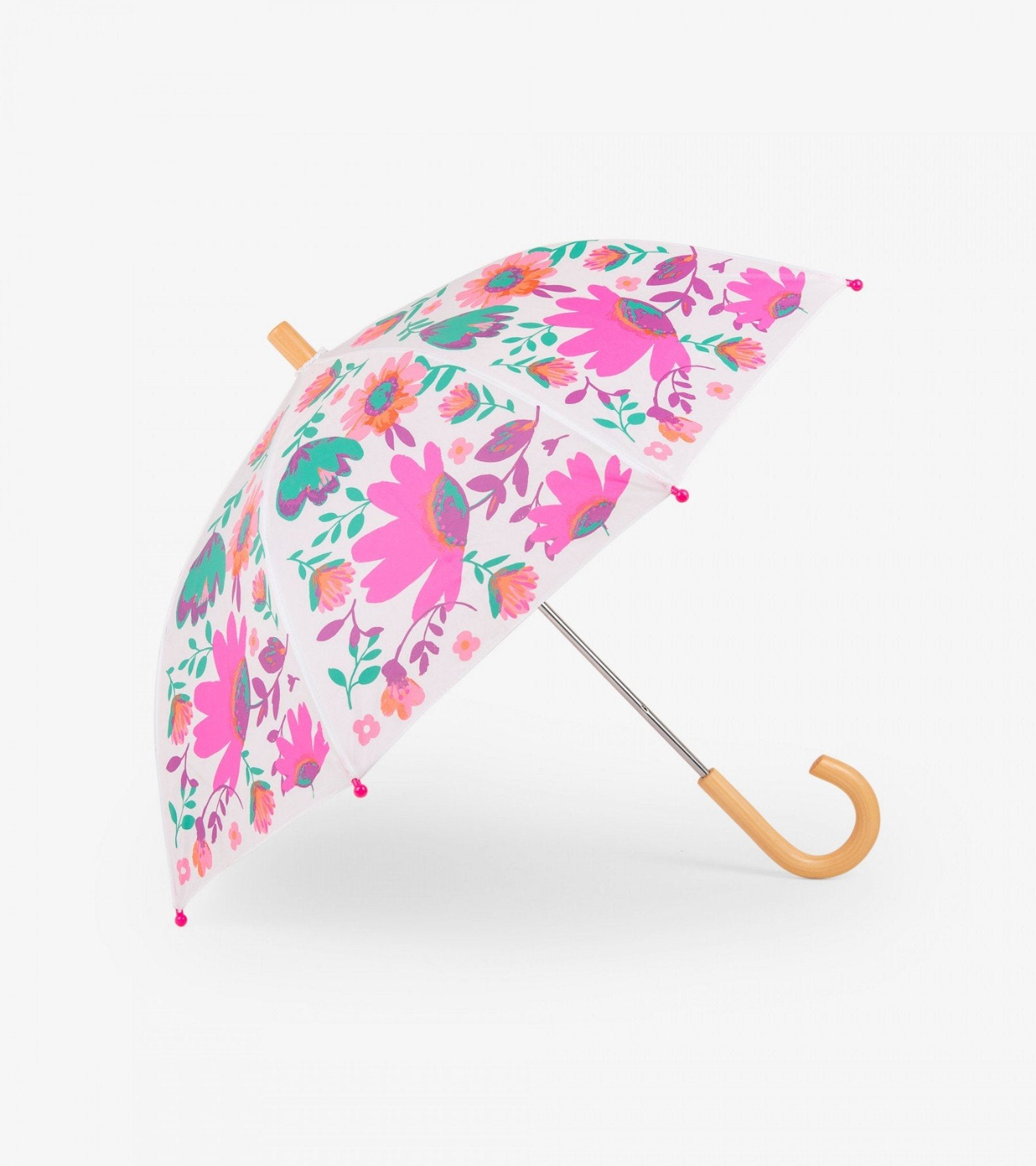 Hatley tortuga bay floral umbrella in White