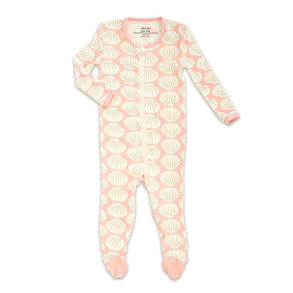 Silkberry Baby Bamboo Footed Sleeper with Zipper