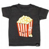 Whistle and Flute Kawaii Popcorn T-shirt