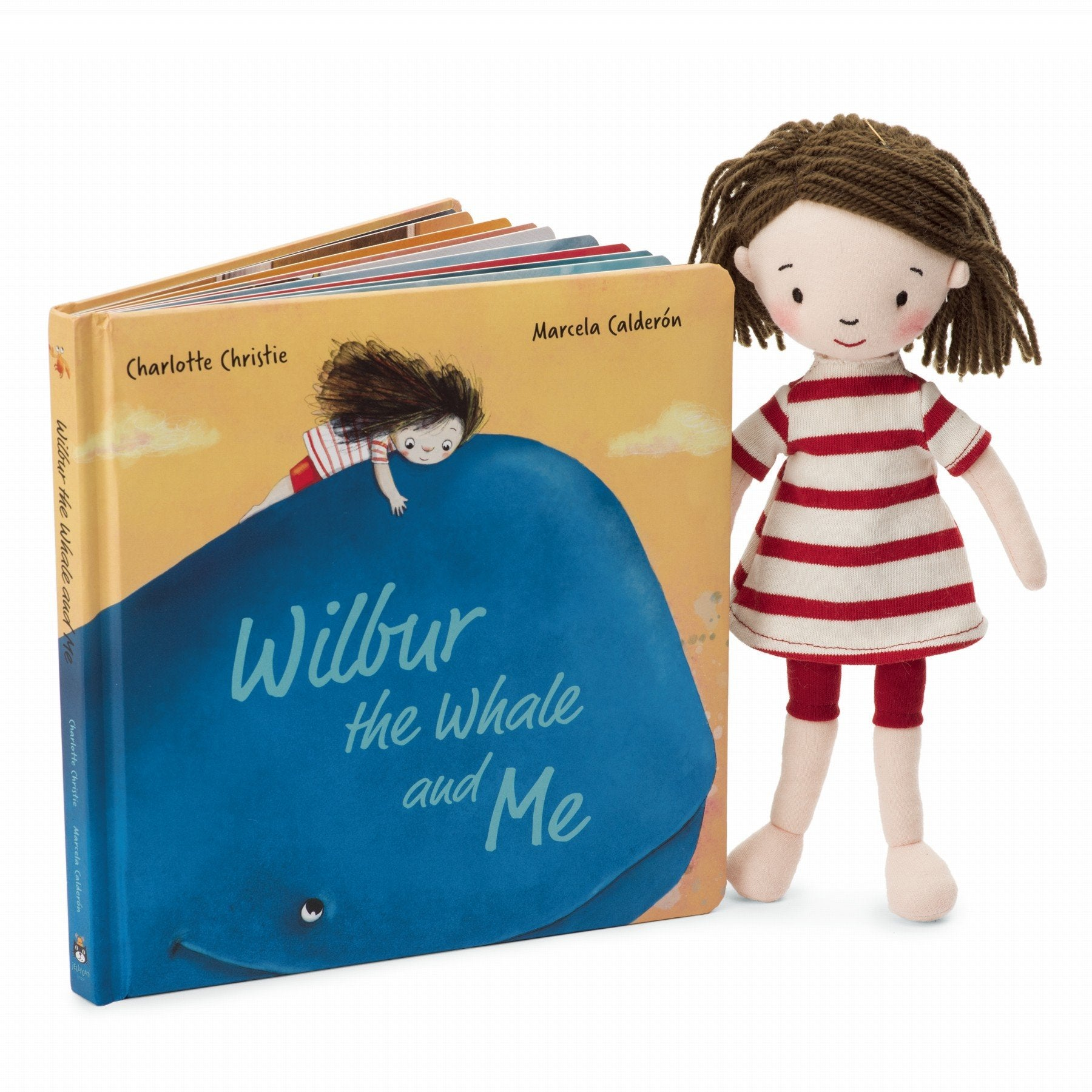 Jellycat Book: Wilbur the Whale and Me