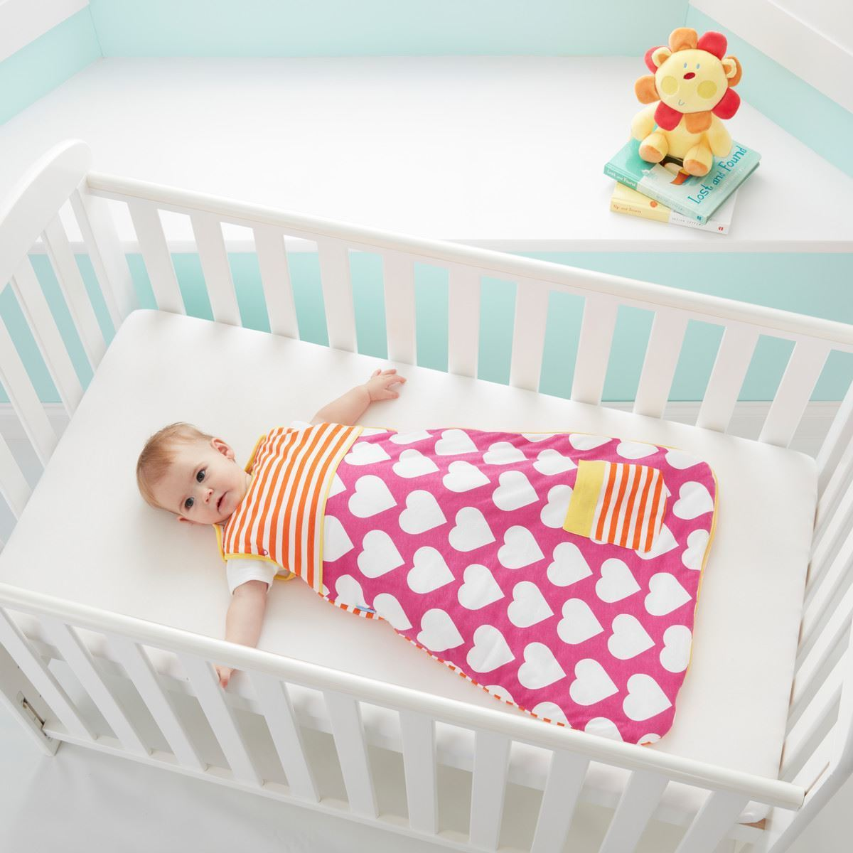 Grobag Baby Sleeping Bag 1.0 Tog In Pocketful of Love
