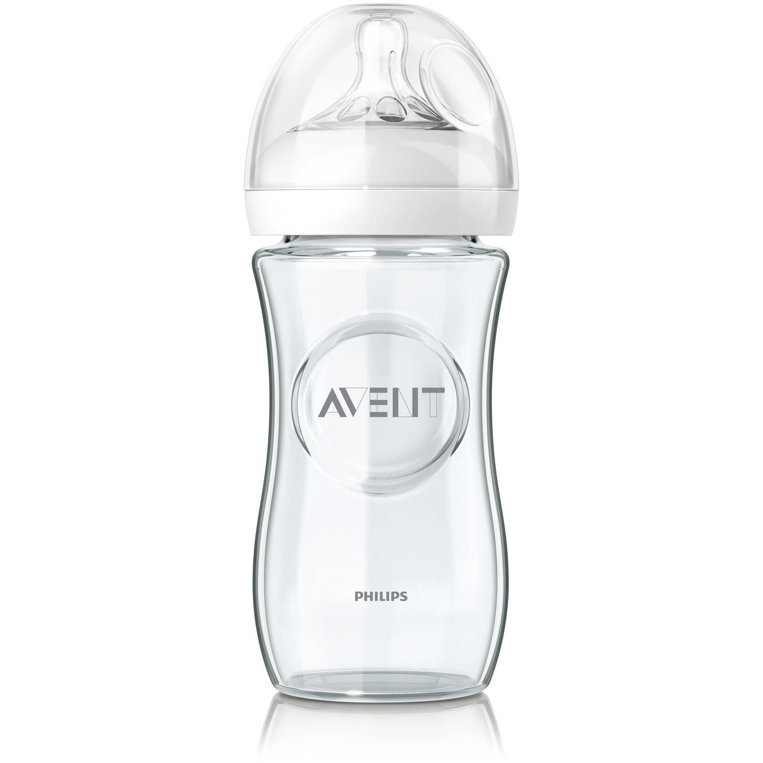 Philips Avent Natural 8oz Glass Bottle
