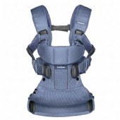 Baby Bjorn Baby Carrier One in Navy Blue, Mesh