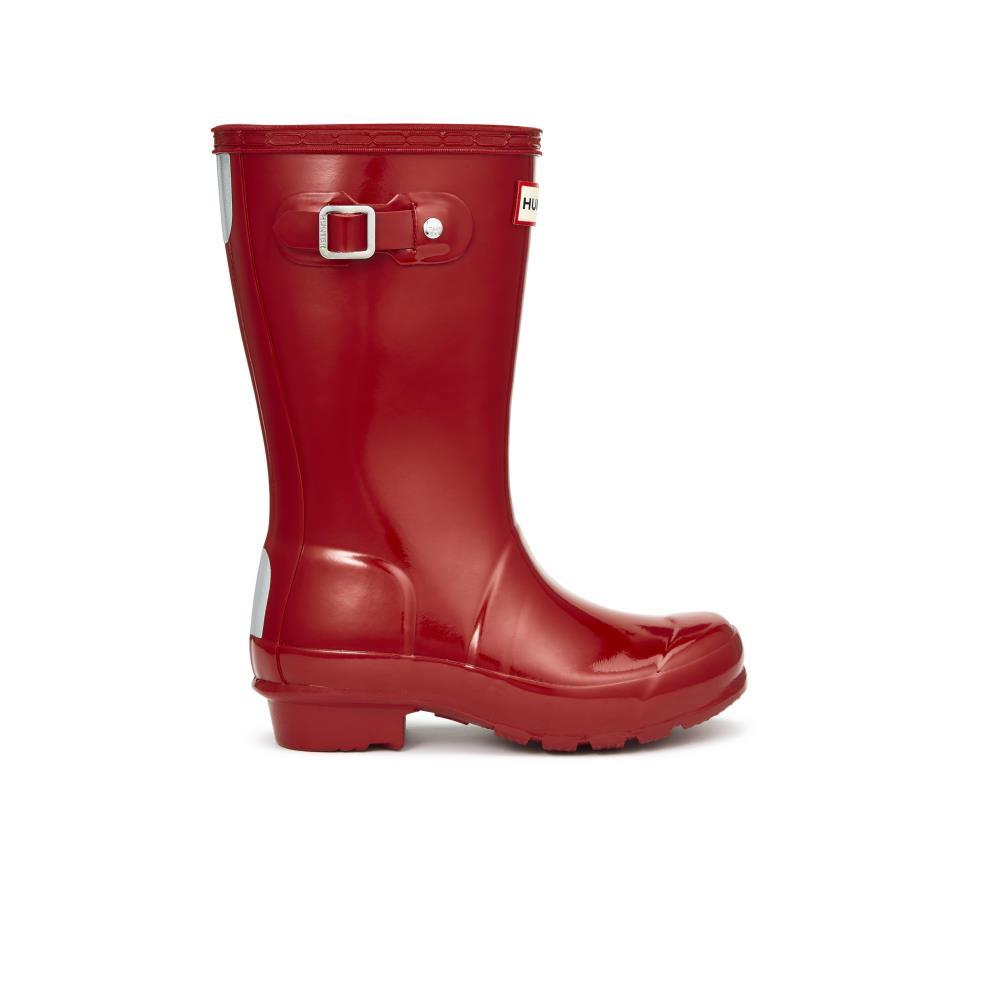Hunter Kids Original First Gl Box Hunter Boots in Military Red