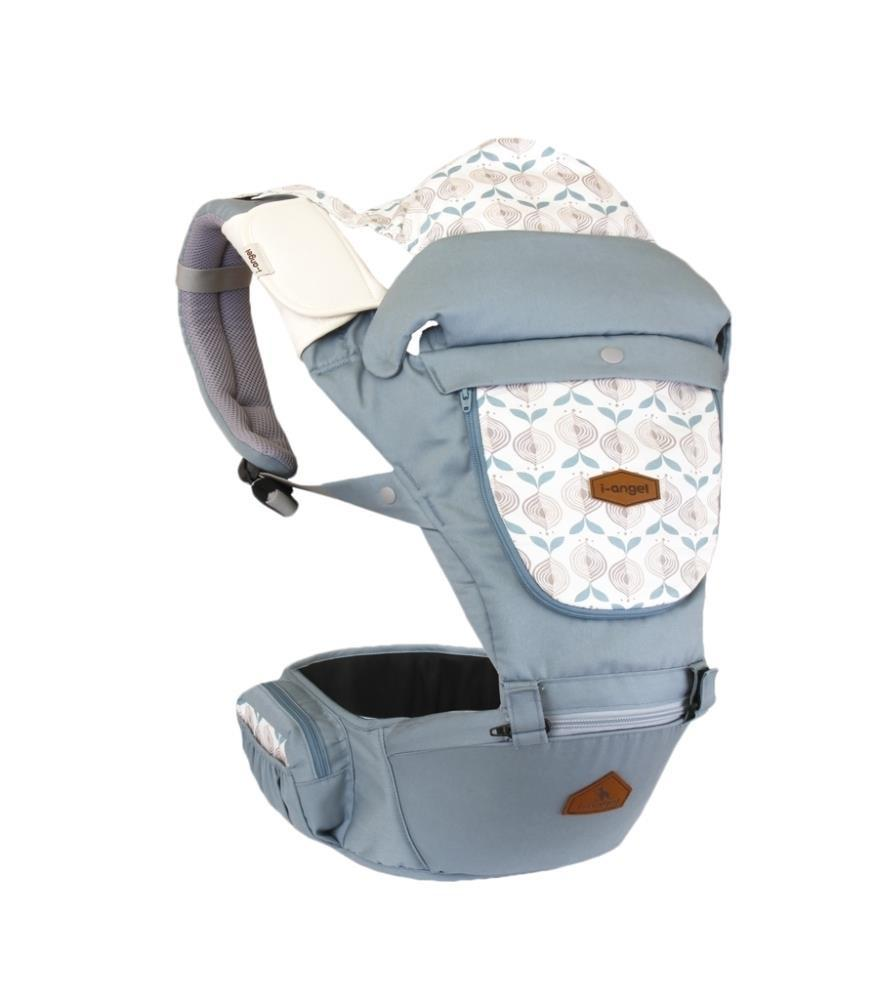I-Angel Miracle Hipseat Carrier in Powder Blue