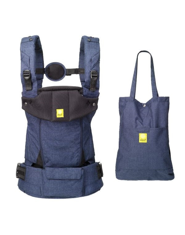 LILLEbaby Serenity All Seasons Carrier in Indigo