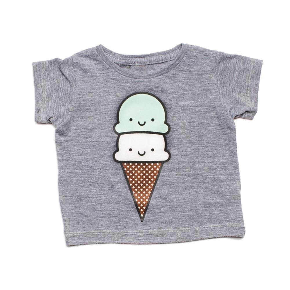 Whistle and Flute Kawaii Ice Cream T-Shirt