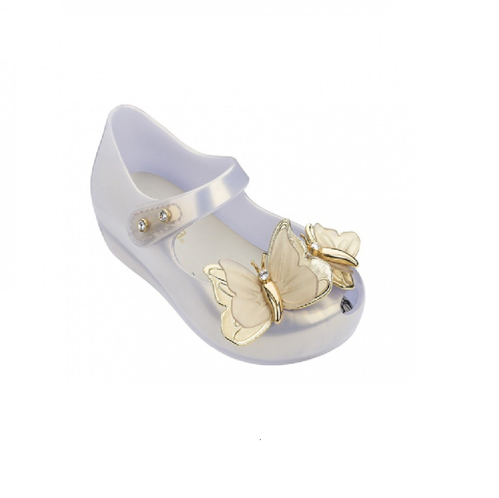 MINI MELISSA ULTRAGIRL SPECIAL I SHOE in PEARL/GOLD