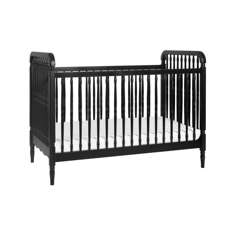 Million Follar Baby Liberty 3-in-1 Convertible Crib with Toddler Rail in Black