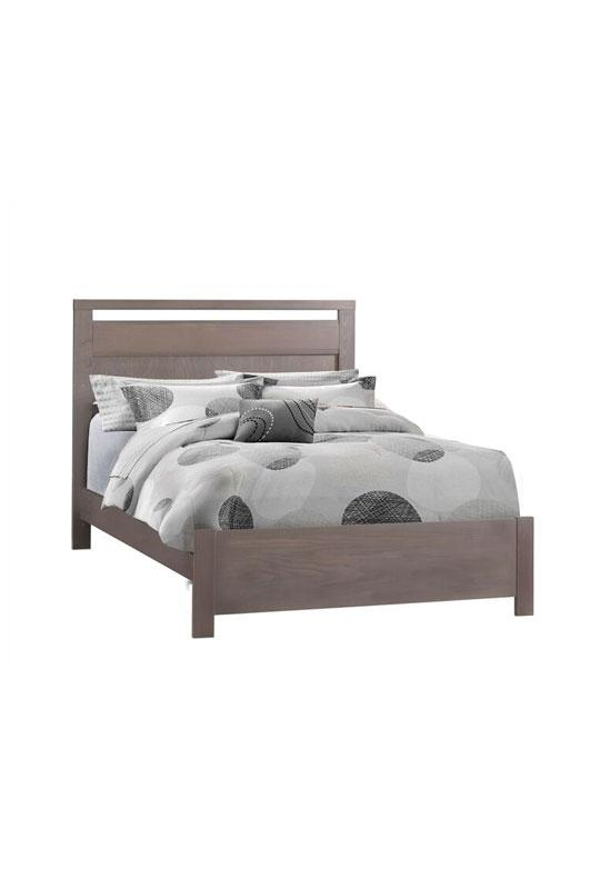 "Nest Milano Double Bed 54"" with Low profile footboard & rails"