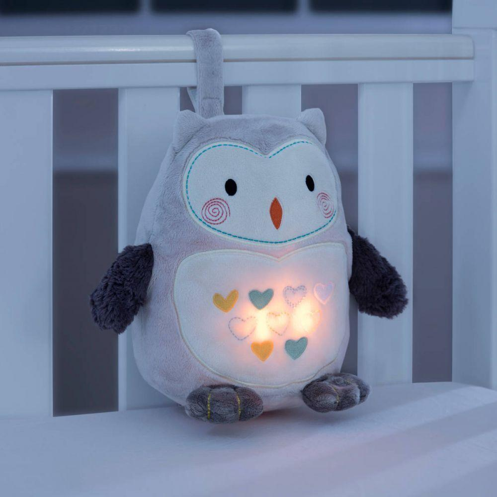 Gro-store Ollie The Owl with Light and sound sleep aid