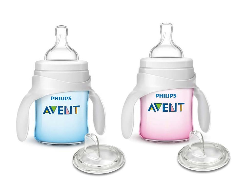 Philips Avent My Classic Trainer Cup 4oz Single in Pink or Blue(assorted)
