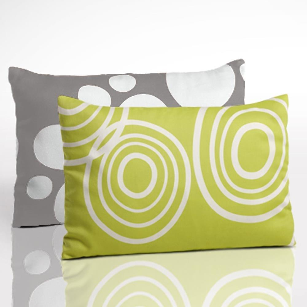 Nook Toddler Pillow Two-Sided Pillow in Lawn and Misty