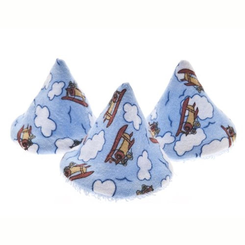 Beba Bean Pee-Pee Teepee in Blue Airplane Print