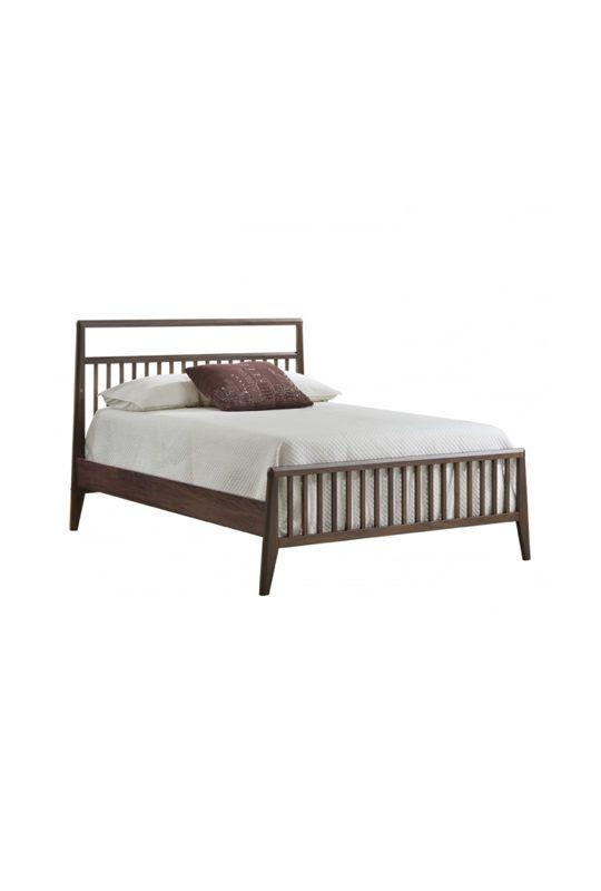 "Tulip Rio double bed 54"" with Low profile footboard & rails"