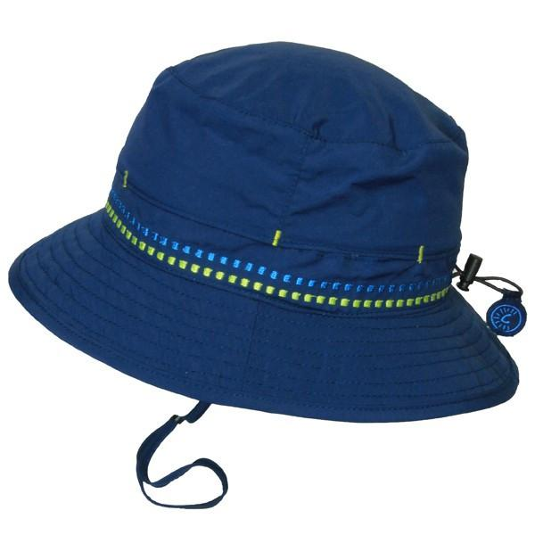 Calikids Boys Vented Quick Dry Hat in Navy