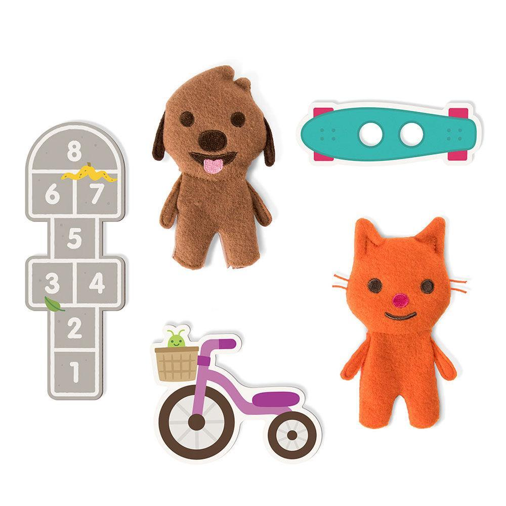 Sago Mini Dance & Play Finger Puppets
