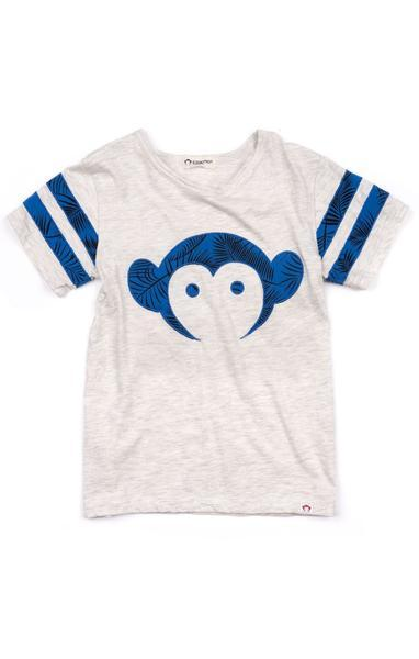 Appaman Sandlot Jersey in Cloud Heather