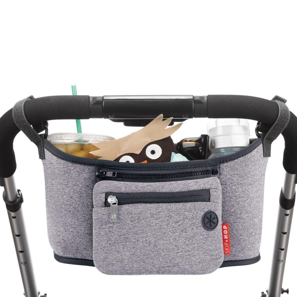 Skip Hop Grab & Go Stroller Organizer in Heather Grey