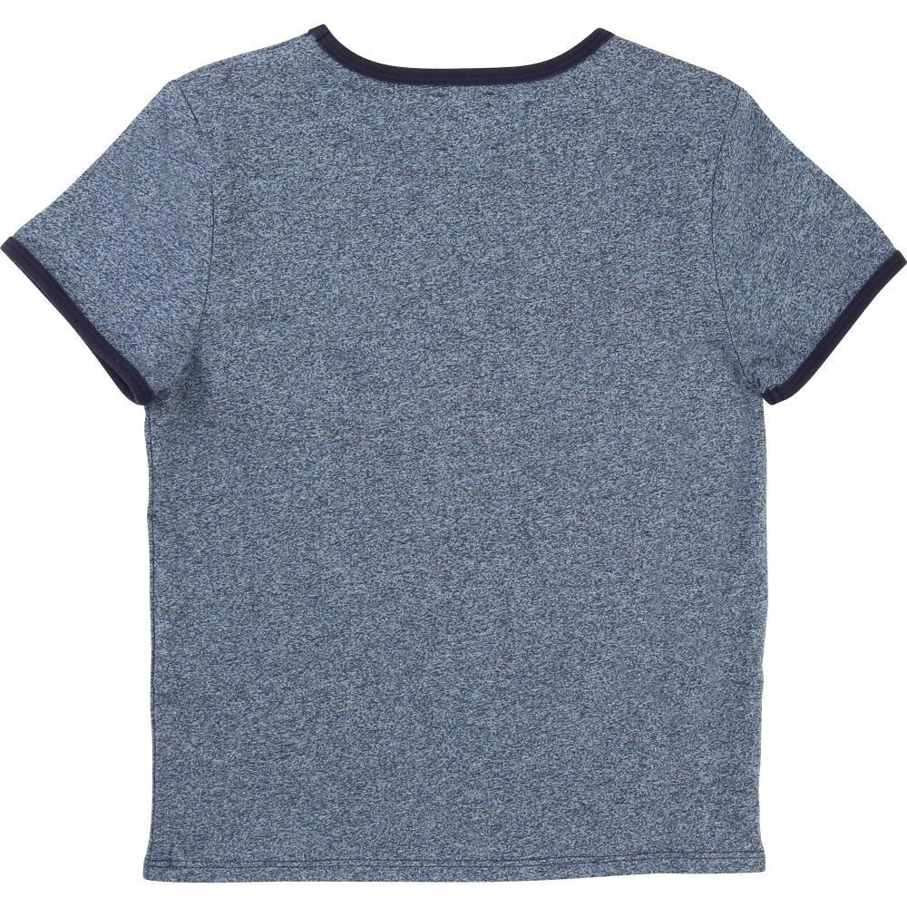 Carrement Beau Tee-Shirt in Medium Denim Chine