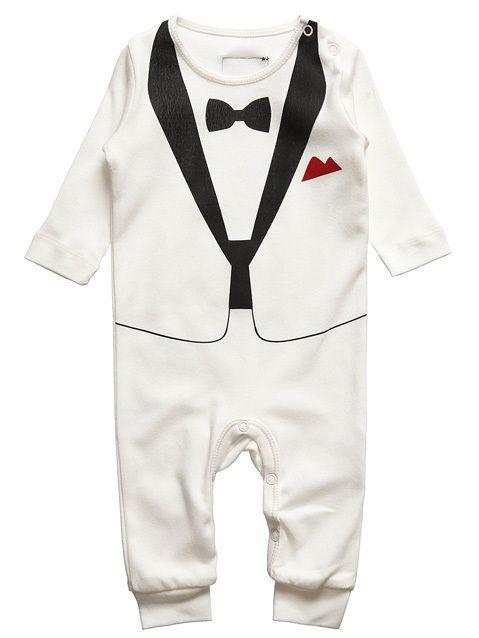 The Tiny Universe Tux in White/Black