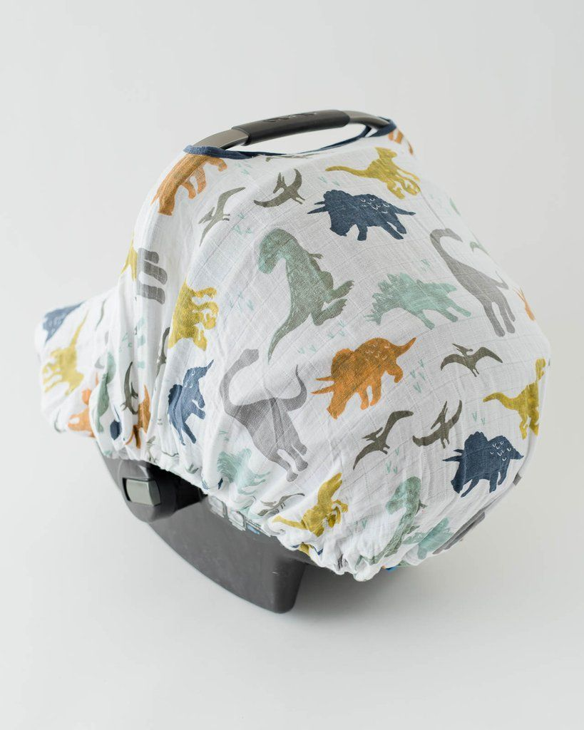 Little Unicorn Cotton Muslin Car Seat Canopy