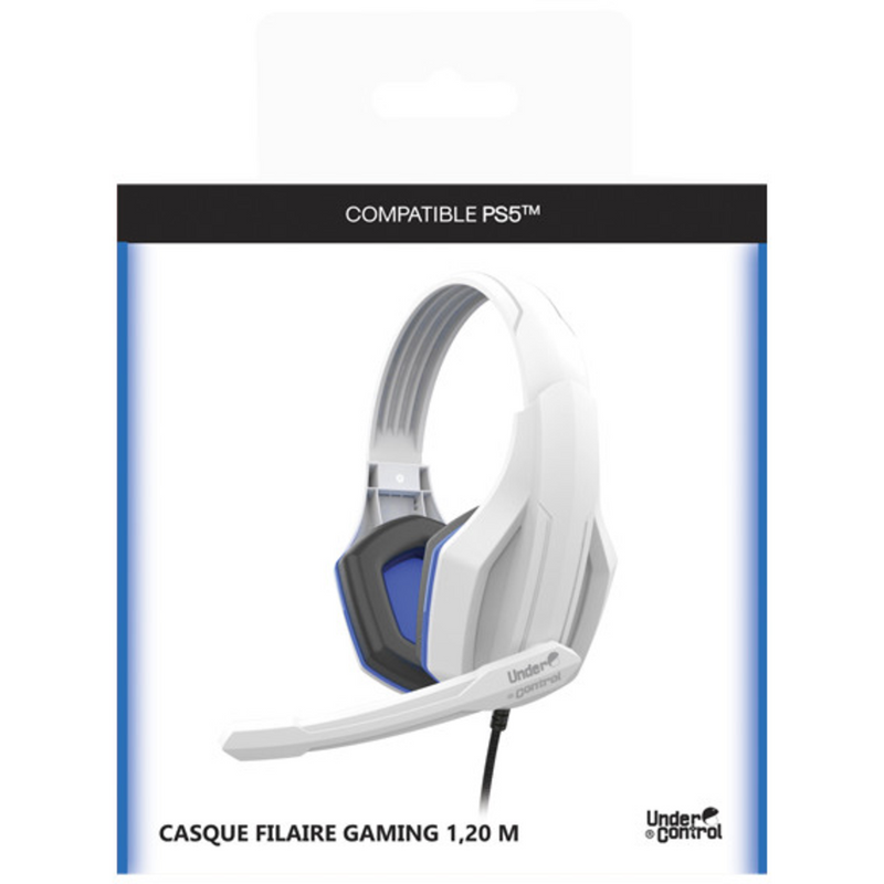 Under Control Playstation 5 Gaming Headset bedraad - Wit