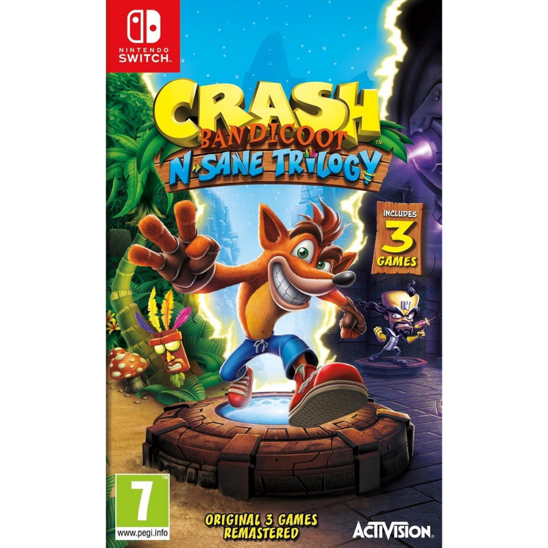Crash Bandicoot N Sane Trilogy - Nintendo Switch Game