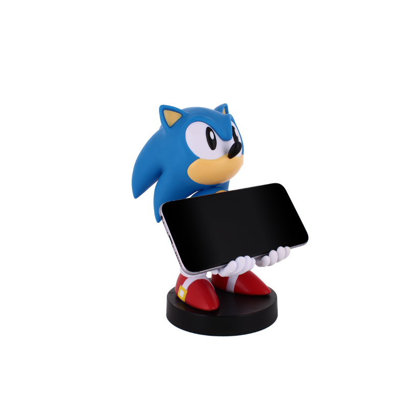 Cable Guy - Classic Sonic telefoonhouder - game controller stand met usb oplaadkabel  8 inch