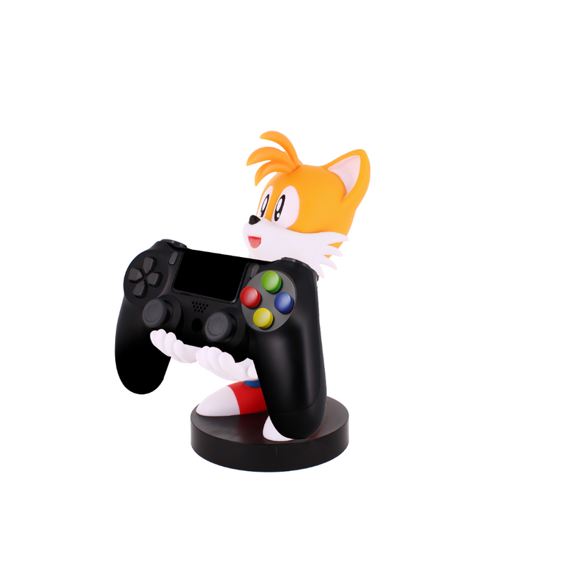 Cable Guy - Tails telefoonhouder - game controller stand met usb oplaadkabel  8 inch