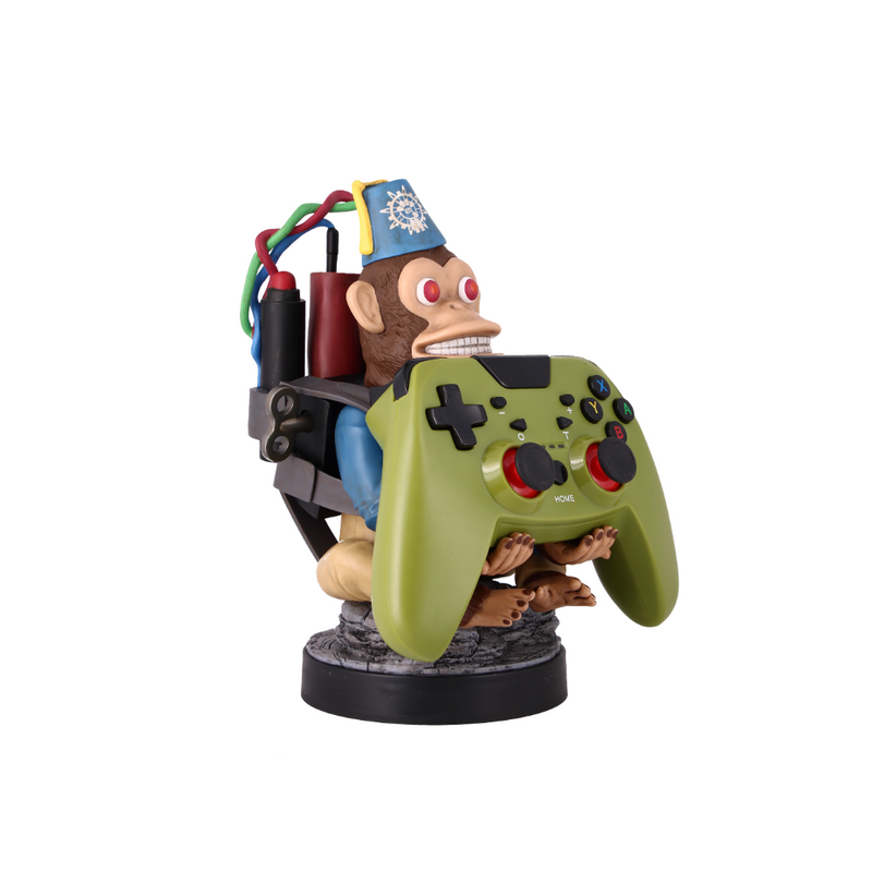 Cable Guy - Call of Duty Monkey Bomb telefoonhouder - game controller stand met usb oplaadkabel - 8 inch