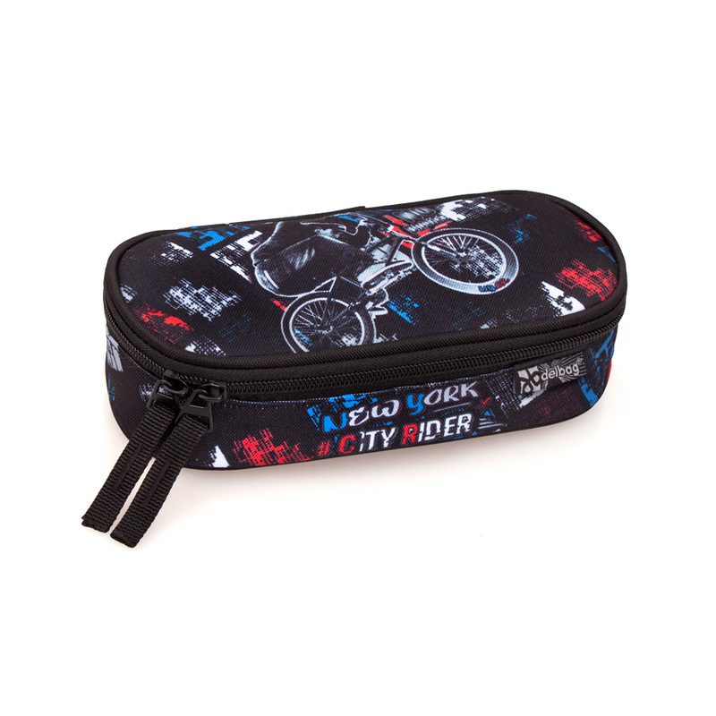 Delbag - Etui Ovaal - New York City Rider - 21 cm