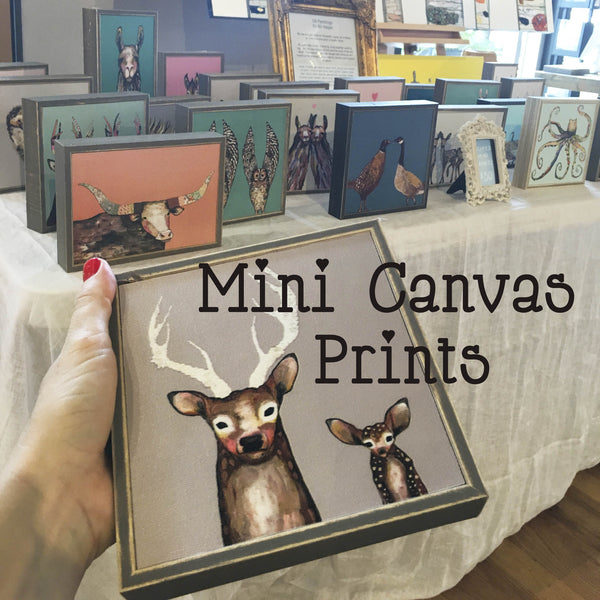 Mini Canvas Prints