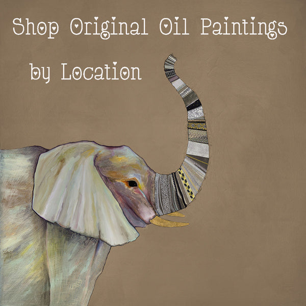Shop Original Oil Paintings by Location
