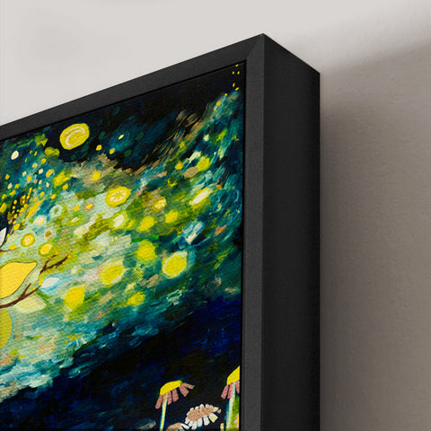 Floater Frame for Canvas Options – Oil Paintings by Eli Halpin