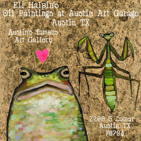 shop original oil paintings by eli halpin at the austin art garage in austin texas