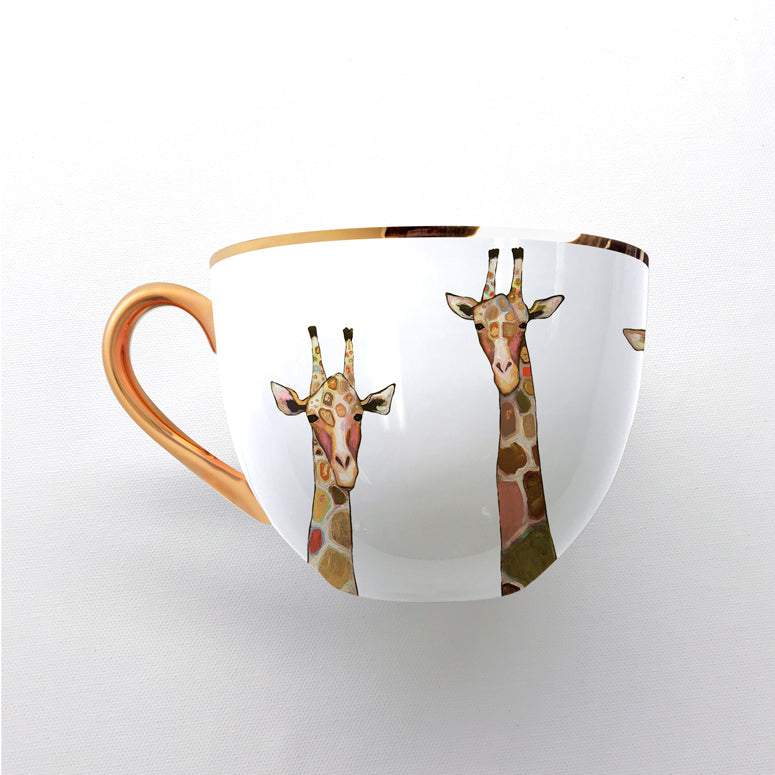 Golden Giraffes Coffee Cup