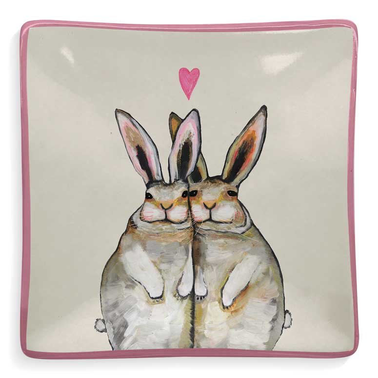 Bunny Friends Decorative Dish