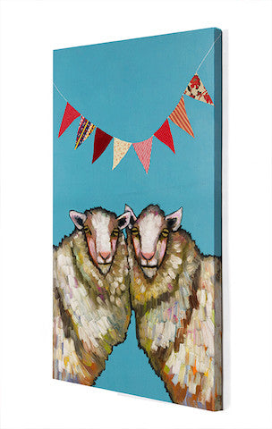 Sheep Birthday Party - Giclée Print