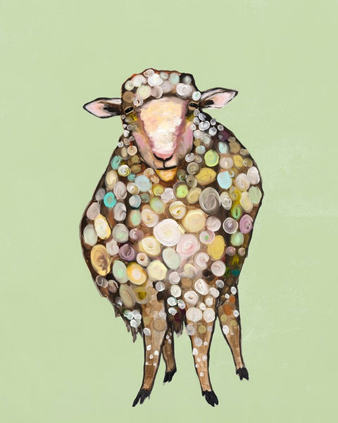 1 Woolly Sheep - Giclée Print
