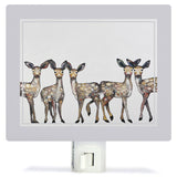 Five Dancing Fawns Night Light