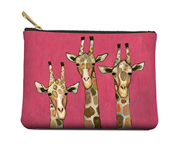 Giraffes Zippered Pouch