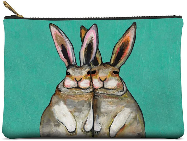 Bunny Friends Zippered Pouch