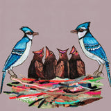 Cowbirds and Nest - Giclée Print