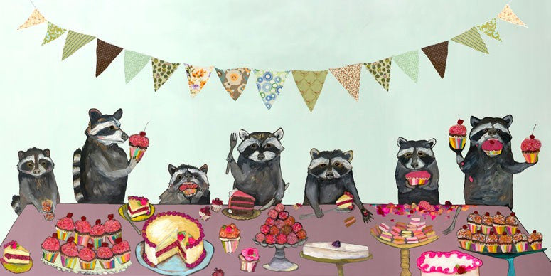 Cupcake Party  - Giclée Print