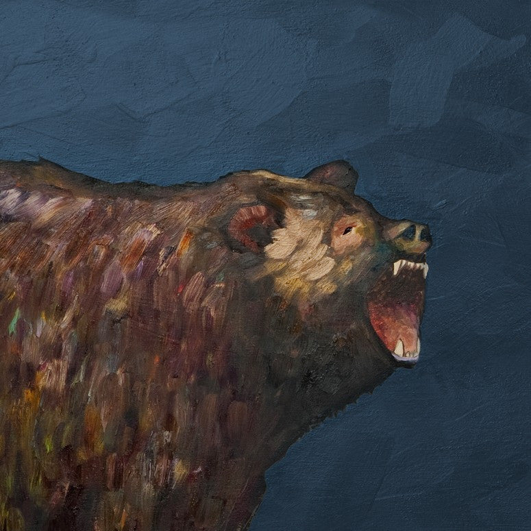 Grizzly Roar - Giclée Print