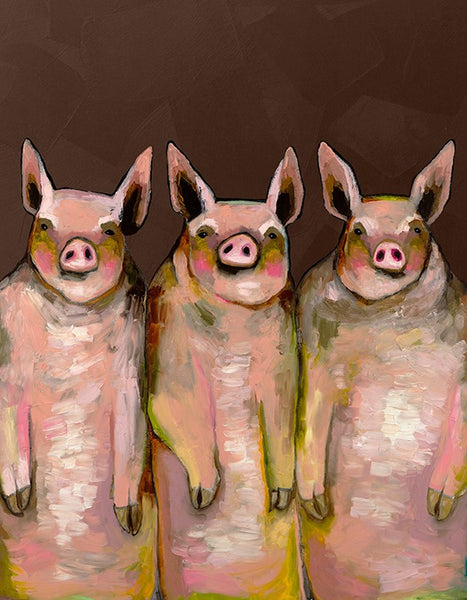 Little Piggies  - Giclée Print