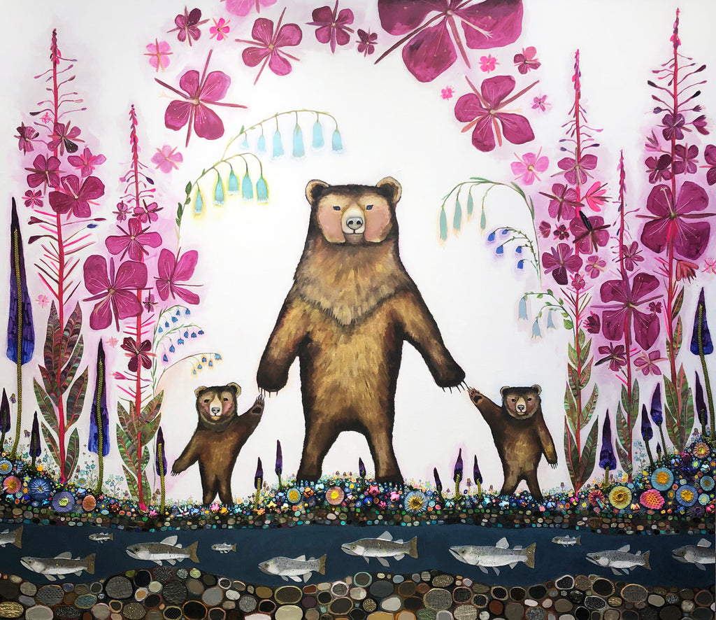 Mama Bear - SOLD Oil Painting