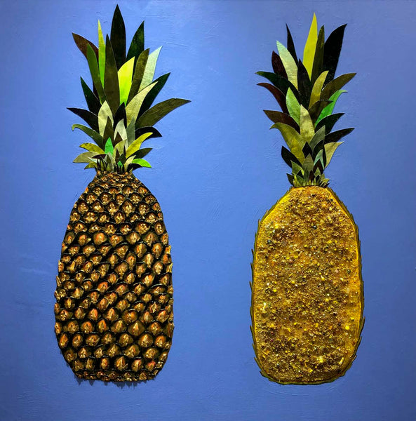 Pineapple Juice - Oil Painting